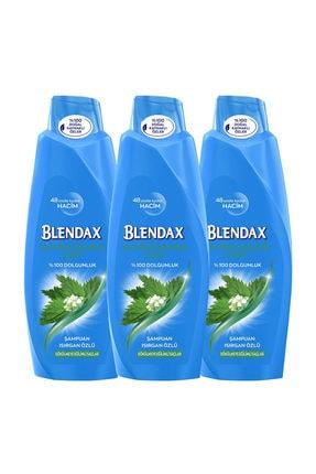 Blendax Isırgan Özlü Şampuan 550 ml  x 3 Adet 0