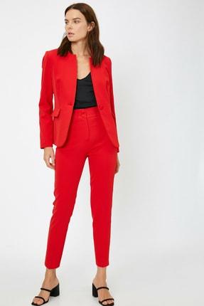 Koton Kadın Cep Detaylı Ceket 2