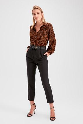 TRENDYOLMİLLA Siyah Havuç  Pantolon TWOAW20PL0245 1