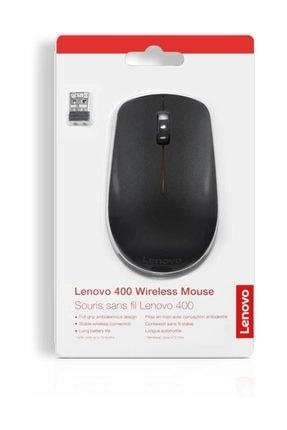 LENOVO 400 Wireless Kablosuz Mouse Siyah GY50R91293 4
