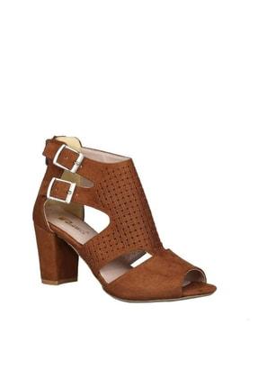 PUNTO Taba Kadın Klasik Topuklu Ayakkabı 19Y423B0049-16 1