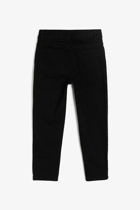 Koton Siyah Cep Detaylı Erkek  Çocuk Jean Pantolon 0YKB46277DD 1