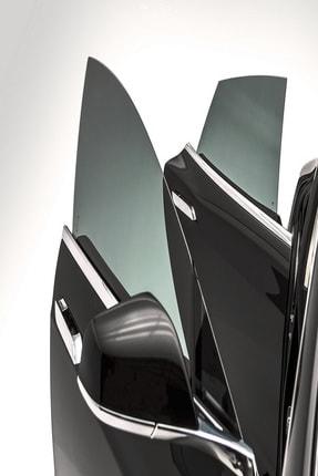 Ecce Cam Filmi Siyah Amerikan Çizilmez  Koyu Ton 75 cm X 6 metre 2