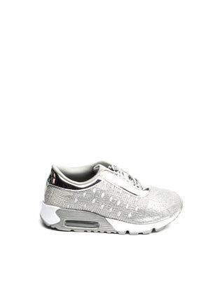 Guja Gümüş Rengi Kadın Yürüyüş Ayakkabısı 18YGUZ165G 2
