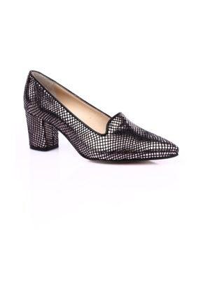 Dgn Çelik Petek Kadın Klasik Topuklu Ayakkabı 1