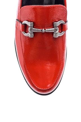 Derimod Hakiki Deri Kırmızı Kadın Ayakkabı 4