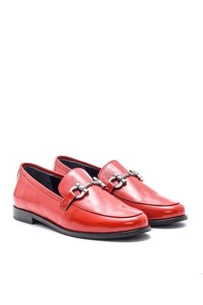 Derimod Hakiki Deri Kırmızı Kadın Ayakkabı 2