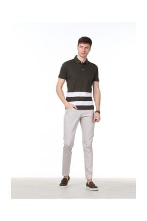 Ramsey Jakarlı Örme T-Shirt - RP10113772 0