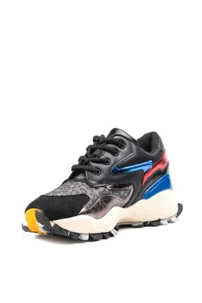 Jeep Ayakkabı Siyah Kadın Spor Ayakkabı 9K2SAJ0140 2