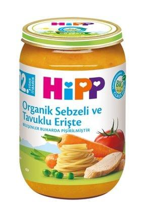 Hipp Organik Sebzeli Tavuklu Erişte 220 gr 0