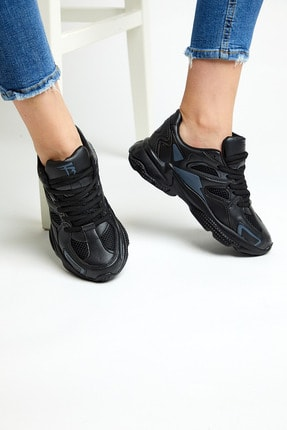 Tonny Black Siyah Unisex Sneaker TB252-0 1