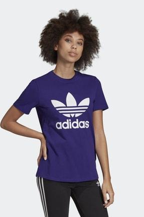 adidas Kadın Originals T-shirt - Trefoil Tee - ED7497 3