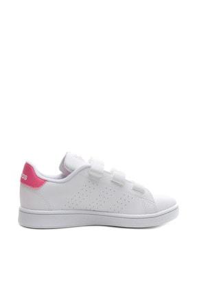 adidas ADVANTAGE Beyaz Kız Çocuk Sneaker Ayakkabı 100481652 3