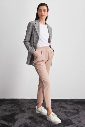 TRENDYOLMİLLA Taş Yüksek Bel Pantolon TWOAW20PL0172. 2