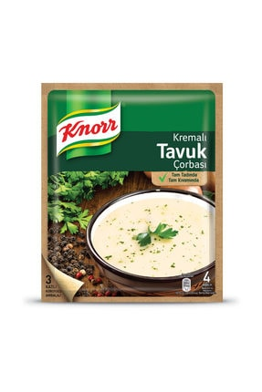 Knorr Knorr Hazır Çorba Kremalı Tavuk 65 G 0