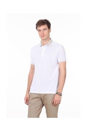 Ramsey Beyaz Düz Örme T - Shirt RP10113808 1