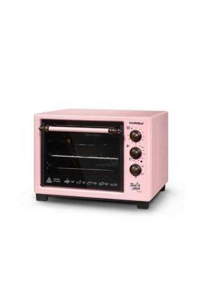 Luxell LX-8520 Tini Mini Static Pembe Mini Fırın 0
