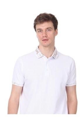 Ramsey Beyaz Düz Örme T - Shirt RP10113808 0