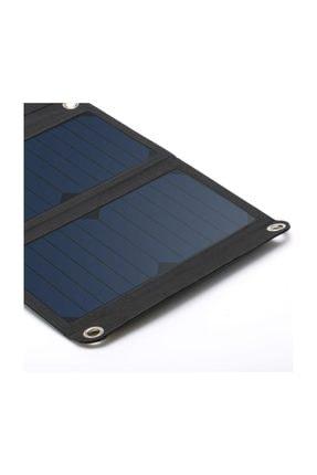 Juo 21W 3 Panelli Güneş Enerjili Katlanabilir Solar Şarj Cihazı 1