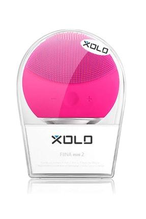 Xolo Fuşya Şarj Edilebilir Silikon Yüz Temizleme Cihazı ve Masaj Aleti 0