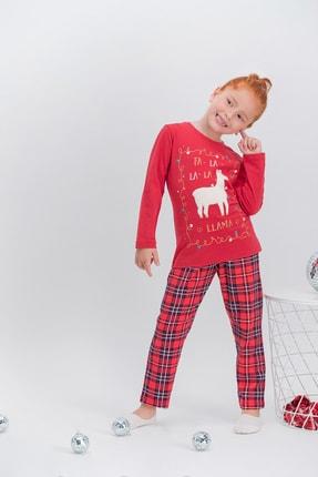 تصویر از 353-2-v1 Kız Çocuk Uzun Kol Pijama Takım