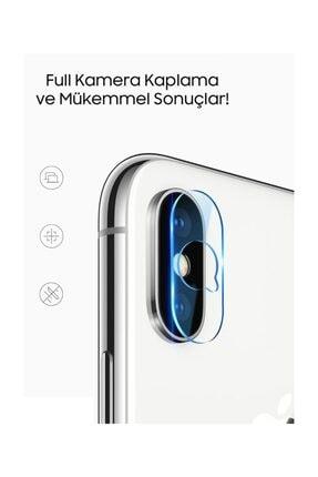 Ally Mobile Ally İphone X Xs, Xs Max Kamera Koruma Kırılmaz Cam Koruyucu RZ 2