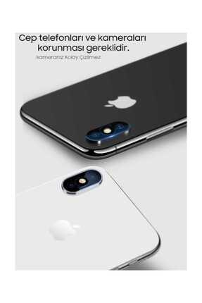 Ally Mobile Ally İphone X Xs, Xs Max Kamera Koruma Kırılmaz Cam Koruyucu RZ 3