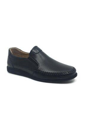 Taşpınar Likers %100 Deri Yazlık Rahat Erkek Ortopedik Rok Ayakkabı 40-44 0