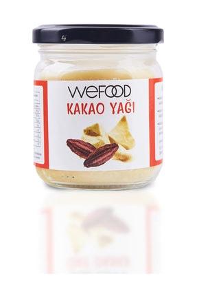 Wefood Organik Kakao Yağı 150 ml 0