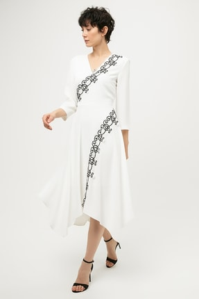 İpekyol Kadın Ekru Elbise IS1190002261 0