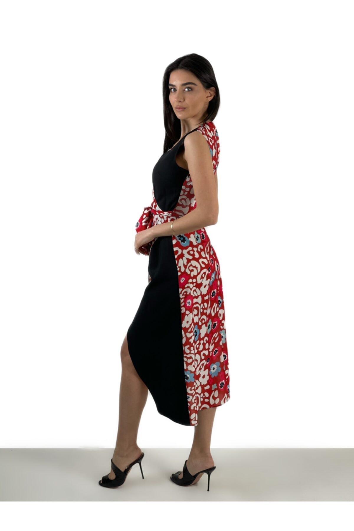 Atelier Aliz Kadın Kırmızı Blum Dress