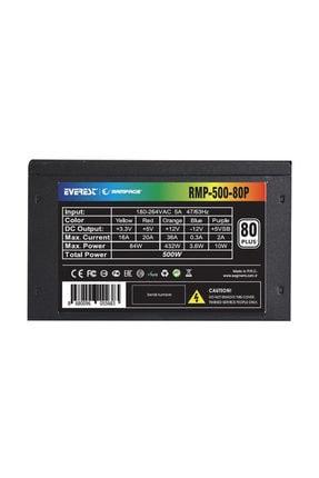 Rampage Rmp-500-80p 500w 80 Plus 12cm Fan Aktif Pfc Power Supply 2