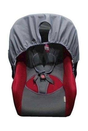 Nenny Baby Eko Ana Kucağı Bebek Puset Taşıma Koltuğu Gri Kırmızı 0
