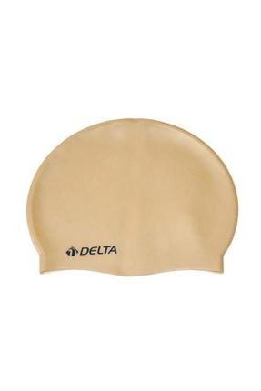 Delta Silikon Bone 10 Adet Yüzücü Havuz Deniz Bonesi (Düz Renk) 0