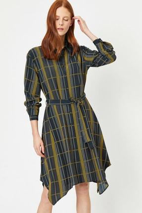 Kadın Asimetrik Elbise 0YAK86128IW