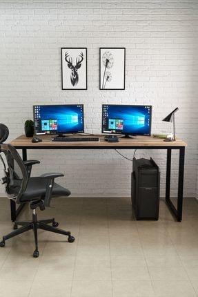 Ceramical Çalışma Masası, Bilgisayar Masası, Ofis Masası (60x160 Cm, Sakremento) 1