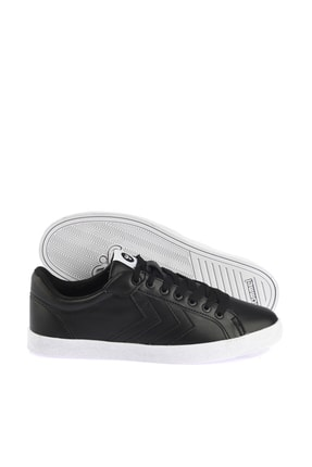 HUMMEL Deuce Court Tonal Unisex Siyah Ayakkabı 1