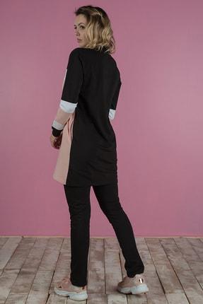 Runever Kadın Siyah Tunik Takım 3