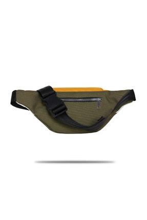 Fudela Haki-Sarı Unisex  Bel Çantası Gncy 1633 1