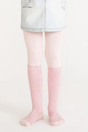 Penti Pembe Pretty Crystal Külotlu Çorap 0