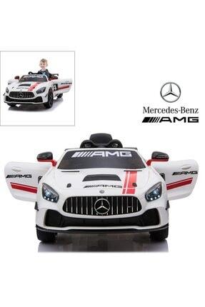 Mercedes Benz Mercedes-Benz Amg Gt4 Sport 12v Kumandalı Akülü Araba 2