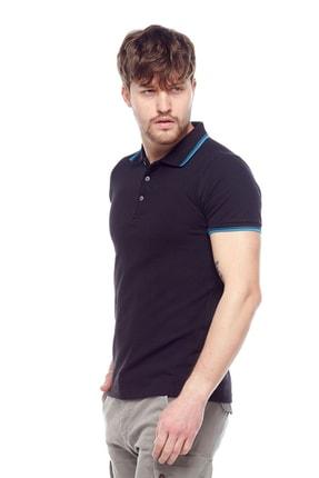 Tena Moda Erkek Siyah Polo Yaka Tişört 1