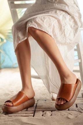Rome Slippers Hakiki Deri   Kadın Terlik 0