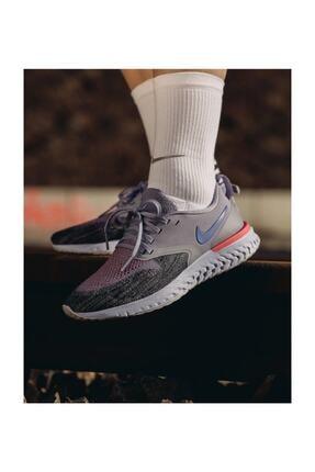 Nike Kadın Mor Odyssey React Flyknıt Yürüyüş Ayakkabısı 2 Ah1016-500 Ah1016-500 1