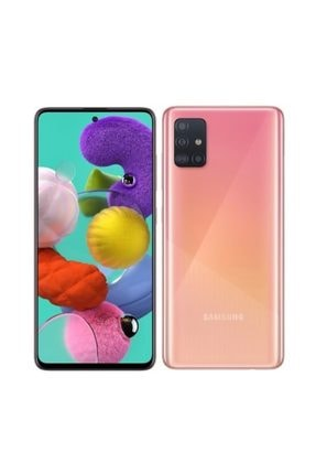 Samsung Galaxy A51 128GB Pembe Cep Telefonu (Samsung Türkiye Garantili) 0