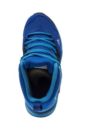 adidas Terrex AX2R Mid Cp Çocuk Mavi Bot (BC0673) 2
