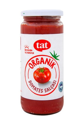 Tat Organik Domates Salçası 500 gr 0
