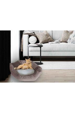 Kedi Yatağı Köpek Yatağı Yavru Kedi Yatağı Yavru Köpek Yatağı Düz Kahverengi est01322