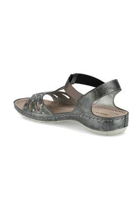 Polaris 161131.Z Antrasit Kadın Sandalet 100509451 2