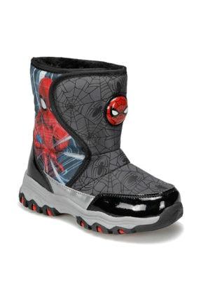 Spiderman 92.ALBAN.P Siyah Erkek Çocuk Kar Botu 100406201 1